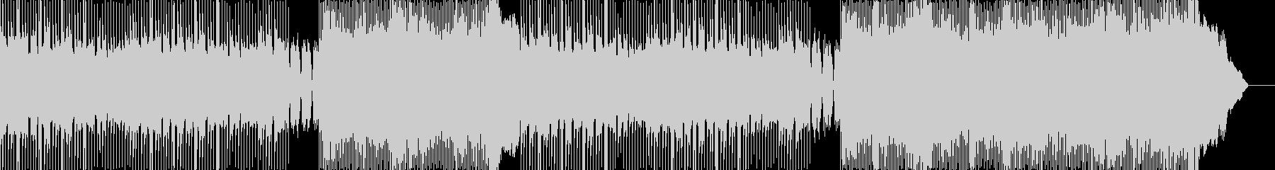 ヘヴィロック アクション 技術的な...の未再生の波形