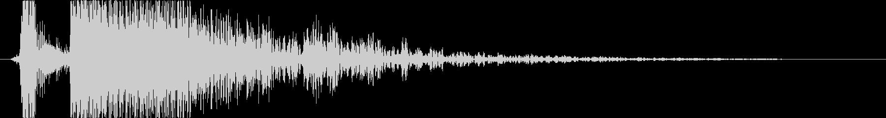 火 スペルファイアキャストラージ01の未再生の波形