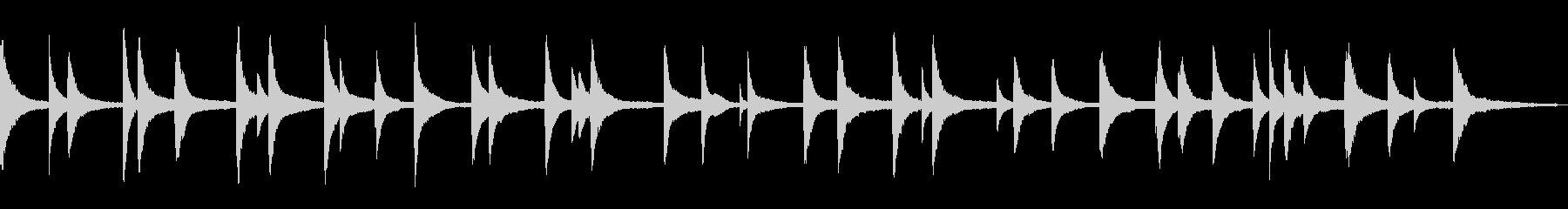 映像・ナレーション用ピアノ演奏(ホーム)の未再生の波形