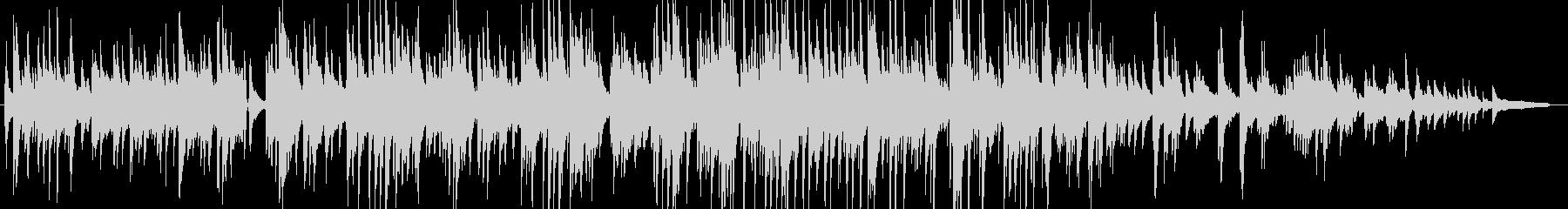 優しく切ないピアノ・ギターの感動バラードの未再生の波形