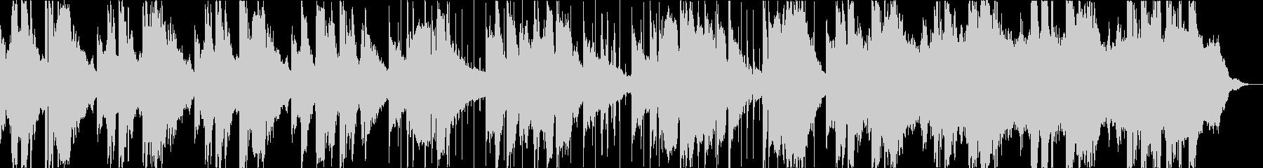 しんみりとサックスとピアノでの未再生の波形