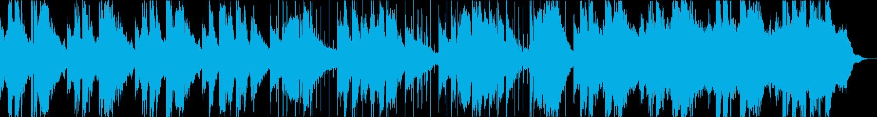 しんみりとサックスとピアノでの再生済みの波形