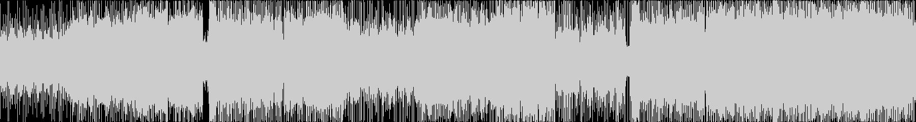 三味線生演奏、和風エレクトロ、Lの未再生の波形
