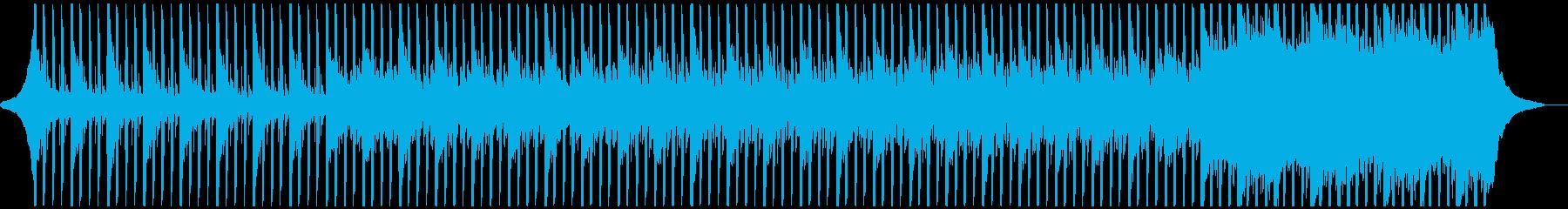 企業VPに!ピアノも爽やかテクノポップの再生済みの波形
