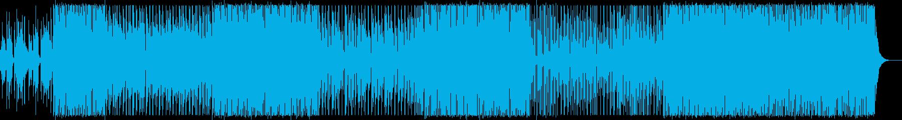 イージーリスニング 楽しげ エスニ...の再生済みの波形