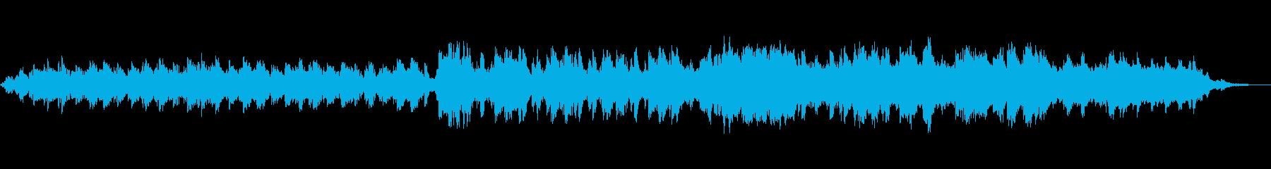 妖しく謎めいた電子アンビエントの再生済みの波形