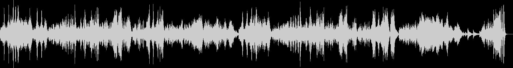 ベートーヴェンの月光#3の未再生の波形