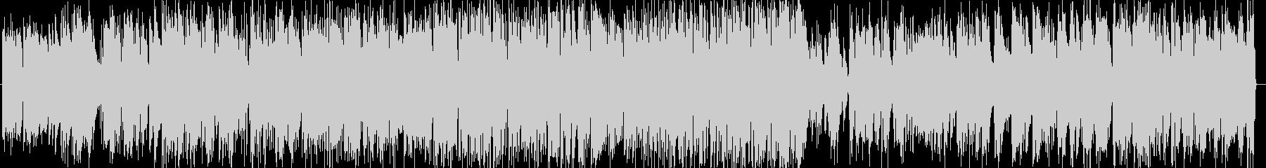 さわやかで軽快なピアノトリオの未再生の波形