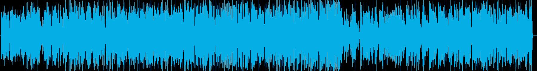 さわやかで軽快なピアノトリオの再生済みの波形