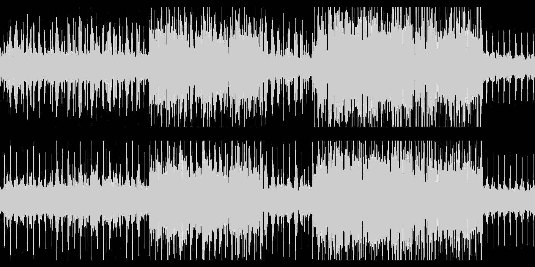 ゆったりリラックスできるヒーリング音楽の未再生の波形