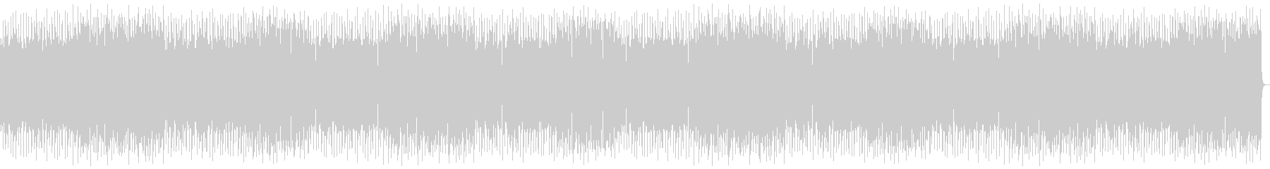 Soothing slow tempo music's unreproduced waveform