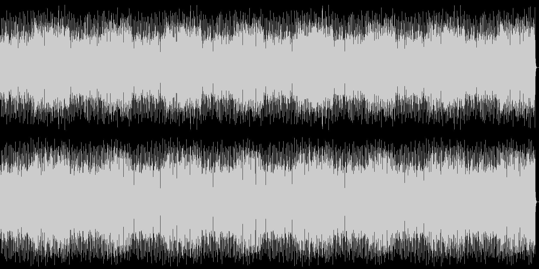 心地よいスローテンポな音楽の未再生の波形
