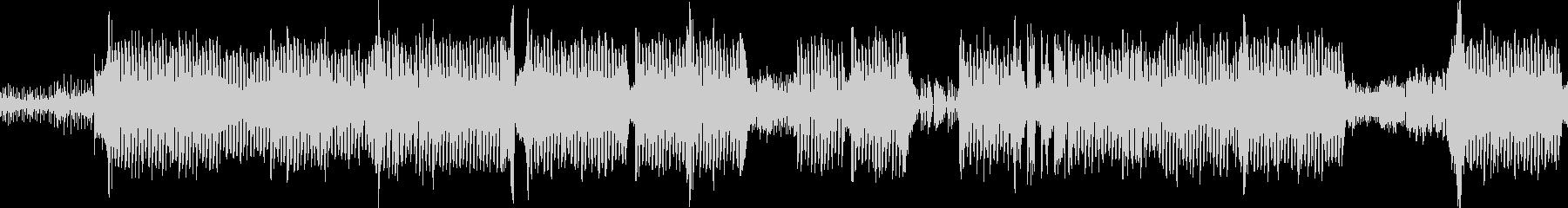 疾走感のあるおしゃれなコードのEDMの未再生の波形