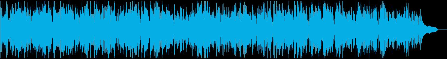 ビンテージサックス生演奏のほんわかジャズの再生済みの波形