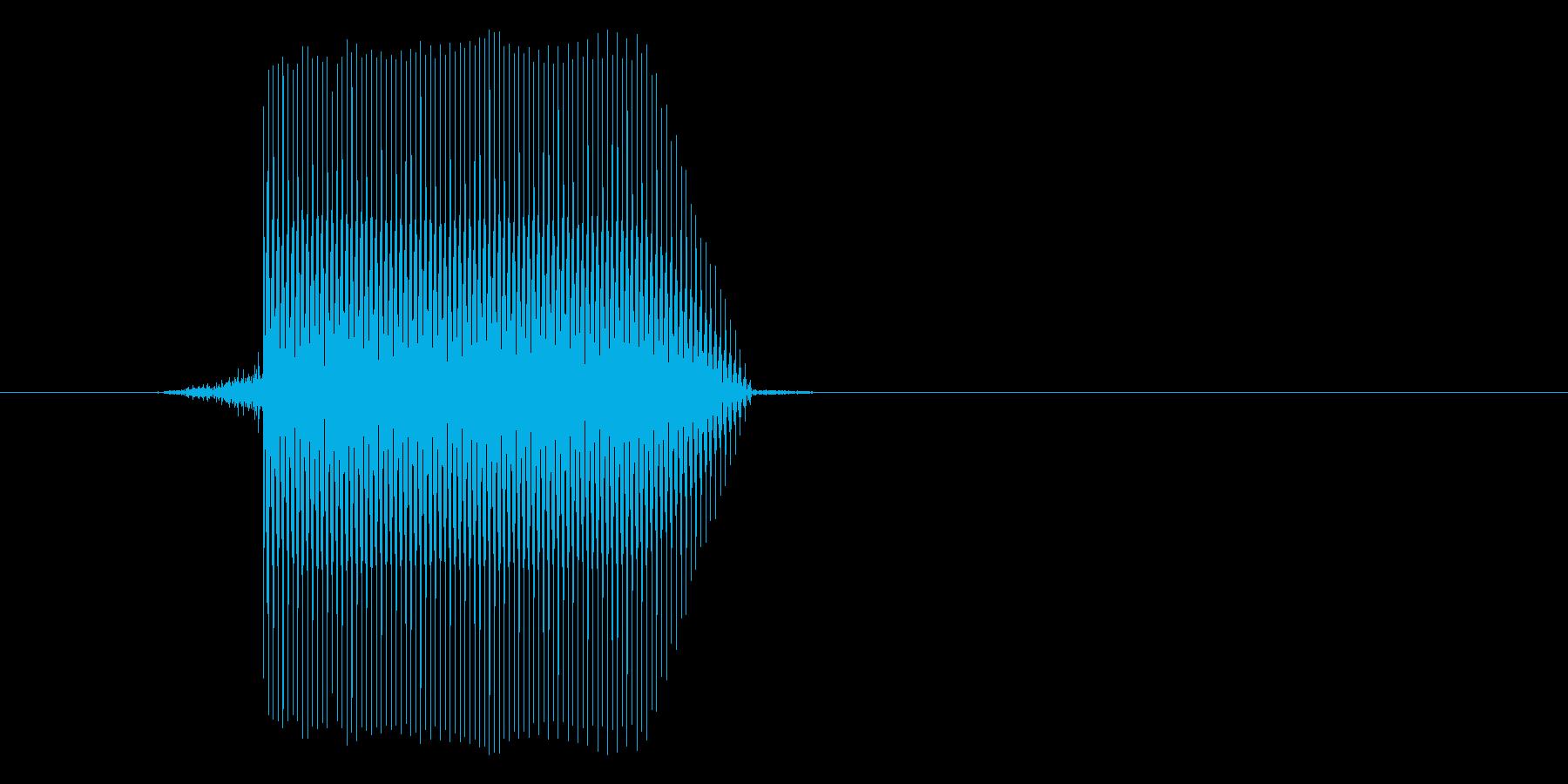 ゲーム(ファミコン風)セレクト音_012の再生済みの波形