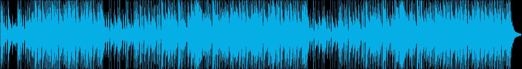 明るい海をイメージしたアコギポップスの再生済みの波形