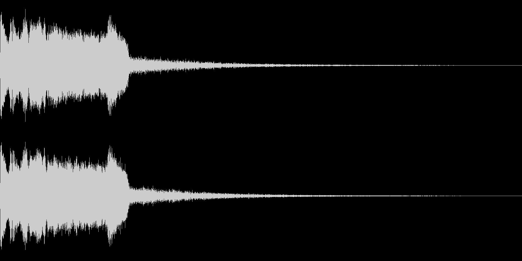 DJFX ヒットチャート発表前SE 7の未再生の波形