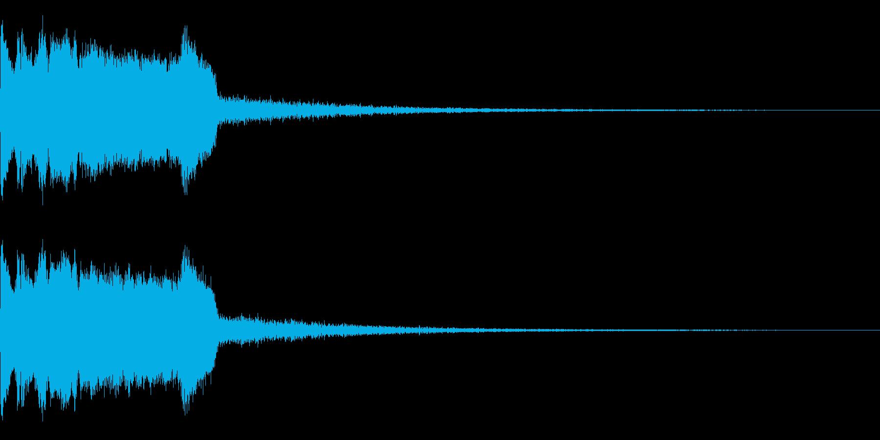 DJFX ヒットチャート発表前SE 7の再生済みの波形