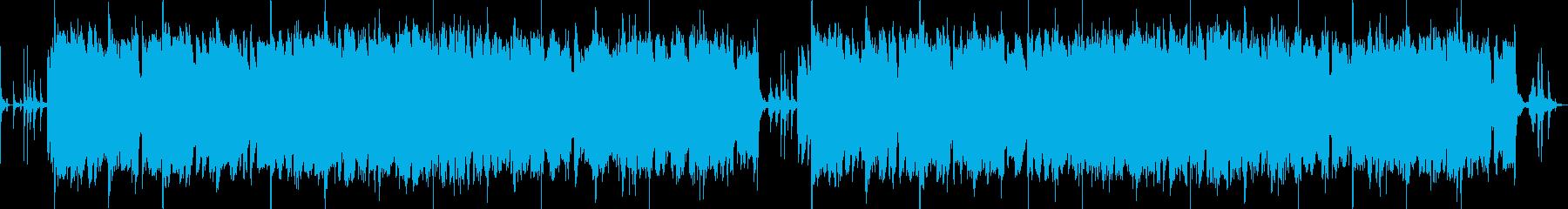 軽快かつ温かいートーク番組等のテーマ曲にの再生済みの波形