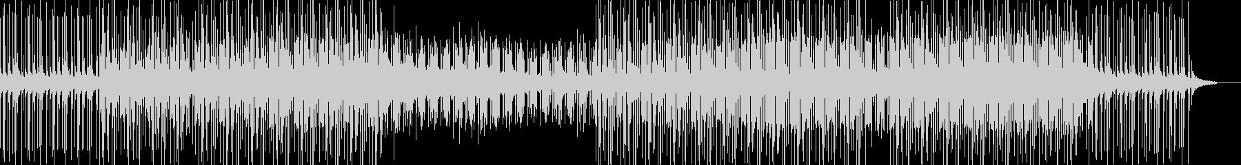 ダークで独特な世界観のメロディーの未再生の波形