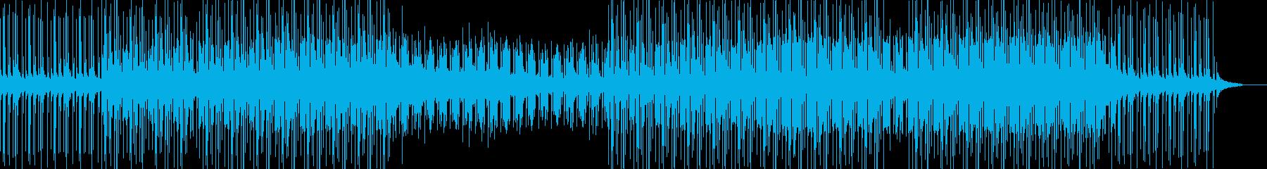 ダークで独特な世界観のメロディーの再生済みの波形