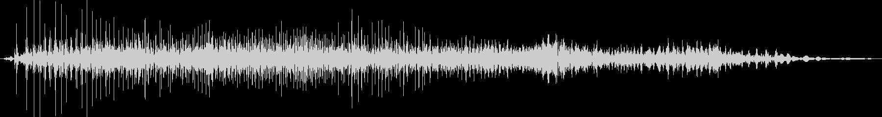 ジー(ジッパーの音※普通)の未再生の波形