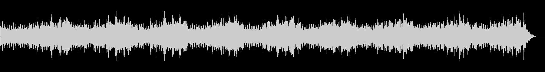 シンセを使ったホラー系BGM(5分+α)の未再生の波形