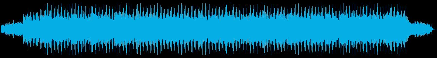 チュートリアル、デジタル、温かい曲の再生済みの波形