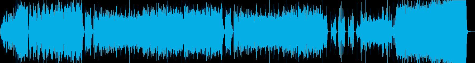 ウェディング・華やかで美しい感動的BGMの再生済みの波形