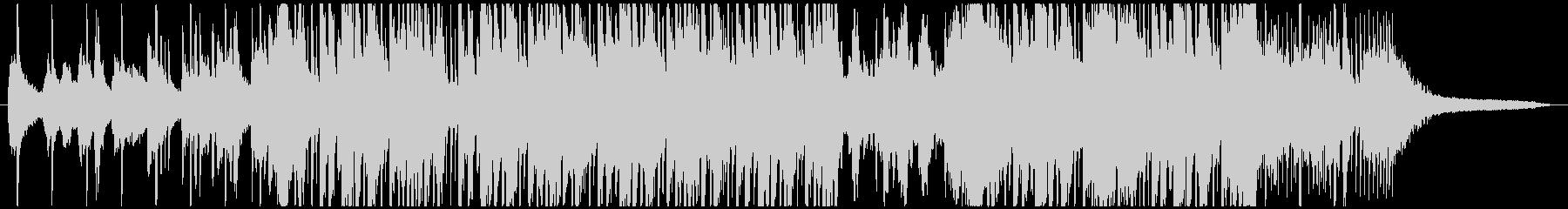 アリアナグランデ風洋楽ポップBGMの未再生の波形