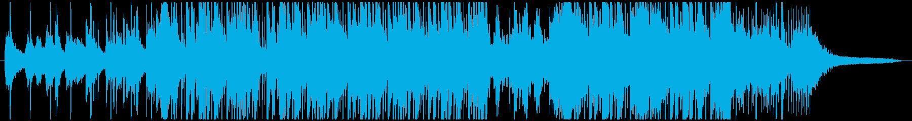 アリアナグランデ風洋楽ポップBGMの再生済みの波形