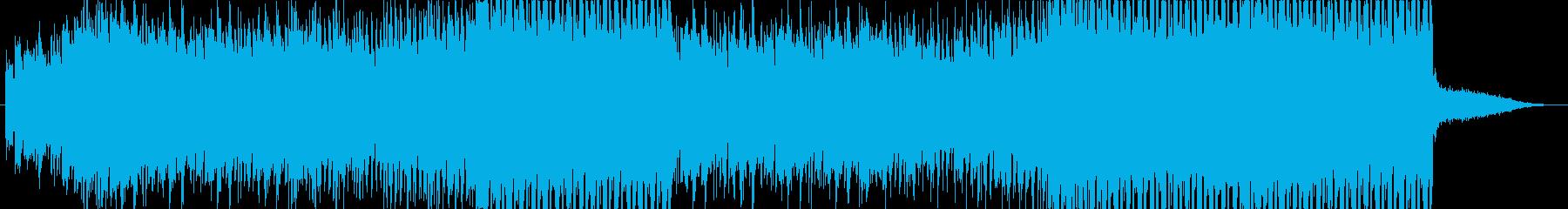 夏にぴったりなエモーショナルEDM の再生済みの波形