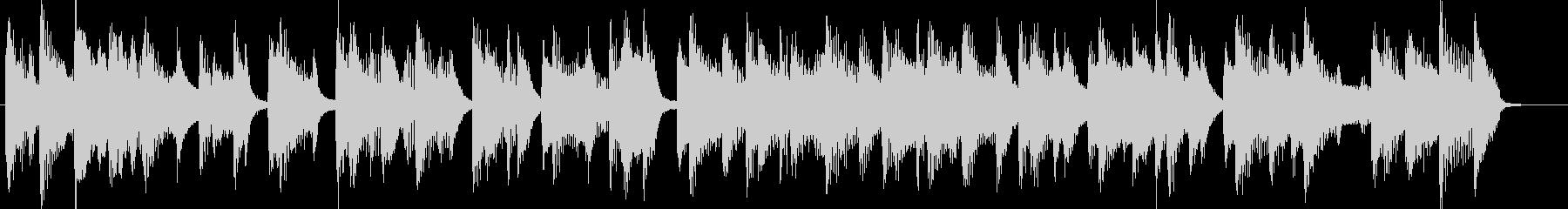 ピアノCM映像出囃子企業VPの未再生の波形