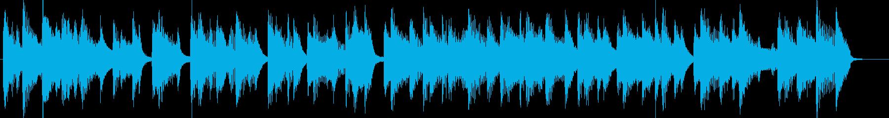 ピアノCM映像出囃子企業VPの再生済みの波形