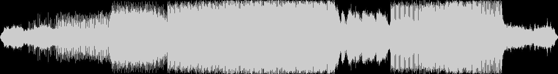 エレクトロニック アクション 説明...の未再生の波形