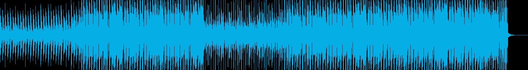 夏の海が似合うラテン調トロピカルハウスの再生済みの波形
