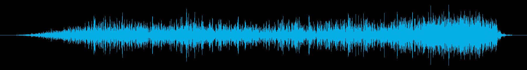 ショートローリングランブルの再生済みの波形