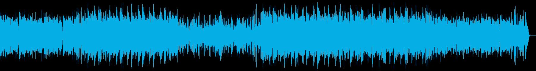 Youtube・大人な夏の海・ジャズの再生済みの波形