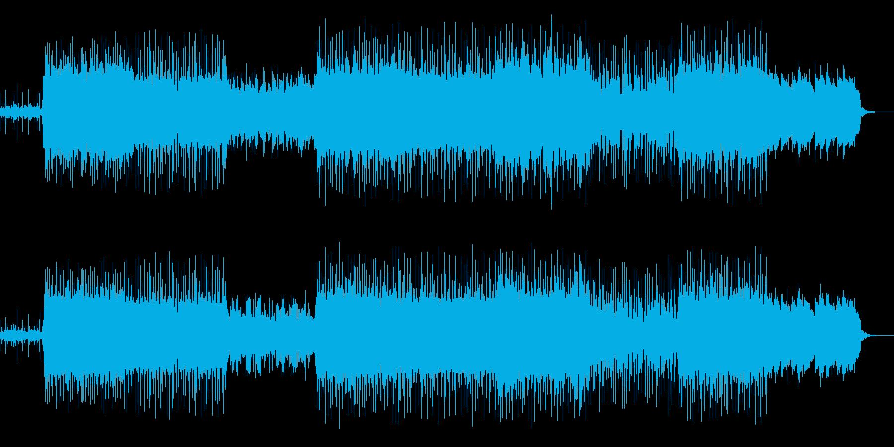 和風チル,ヒップホップ尺八BGM,CM等の再生済みの波形