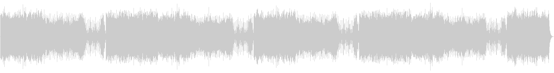 弦、フルート、フレンチホルン、そり...の未再生の波形