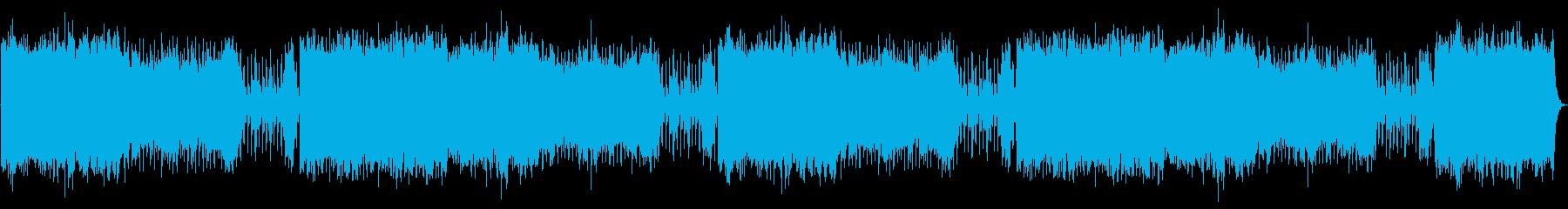 弦、フルート、フレンチホルン、そり...の再生済みの波形