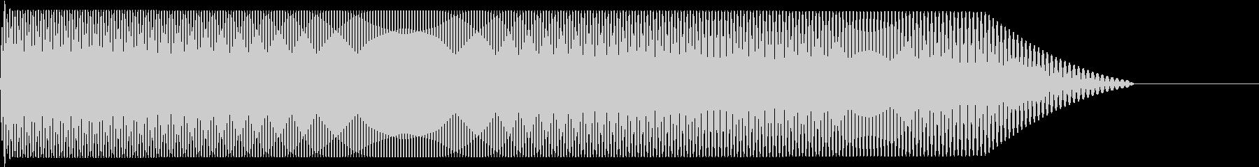 メタルコアベースドロップ G1→G0の未再生の波形