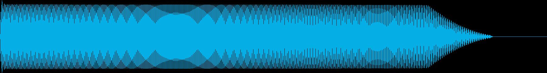メタルコアベースドロップ G1→G0の再生済みの波形
