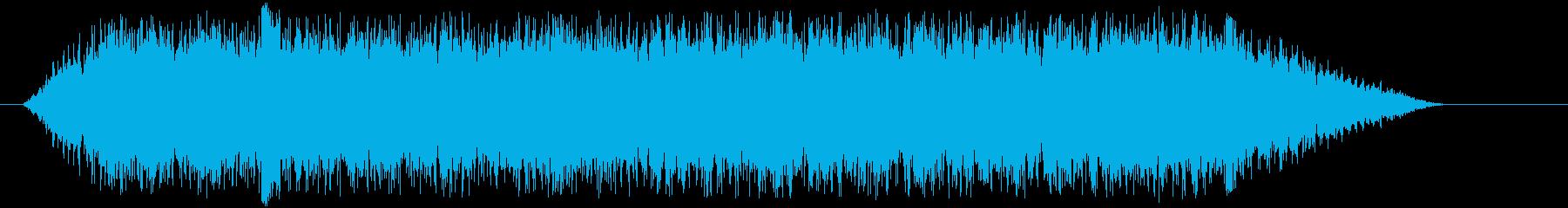 Bus騒-アニメーション-スペインの再生済みの波形