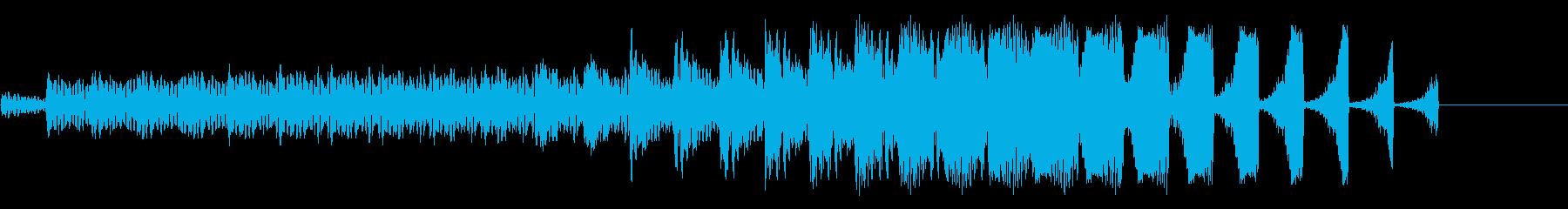 電子アクセント、メタルヒット、エコ...の再生済みの波形