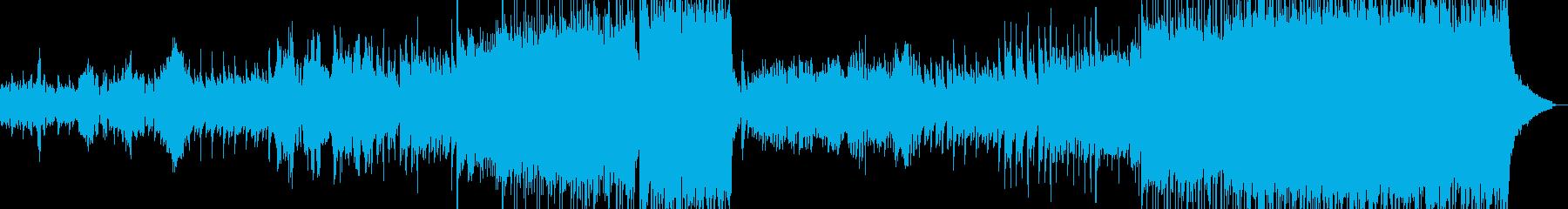 二胡とハープ・儚くも壮大な演出に B3の再生済みの波形