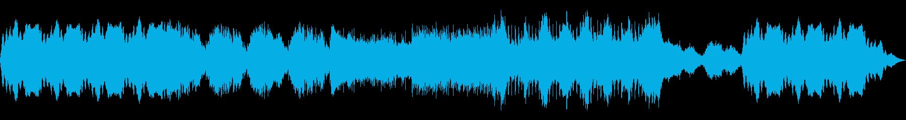 物語の始まりを想起させるBGMの再生済みの波形