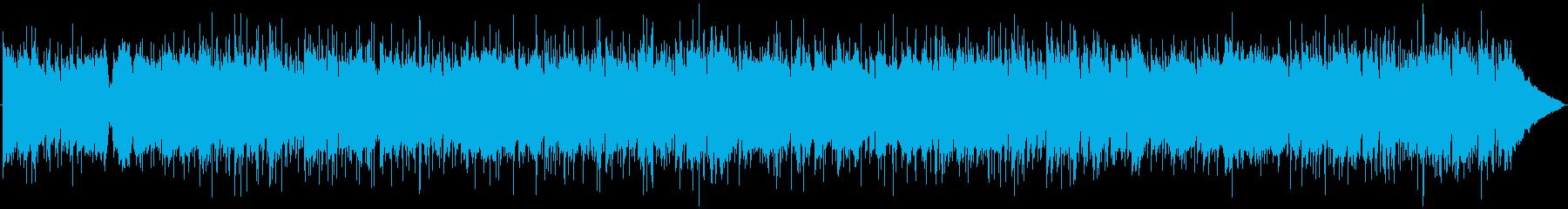 マンドリンのカントリーバラードBGMの再生済みの波形