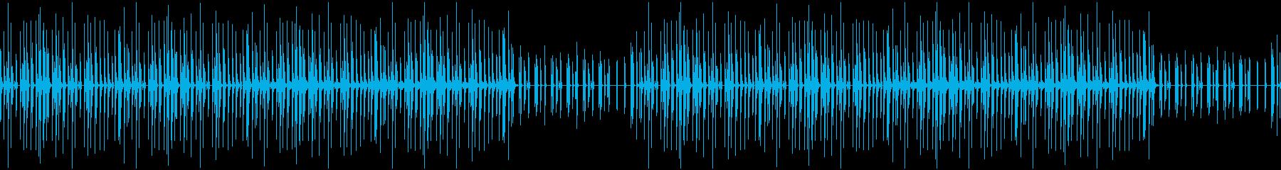 ホップしたくなるかわいい木琴BGMの再生済みの波形