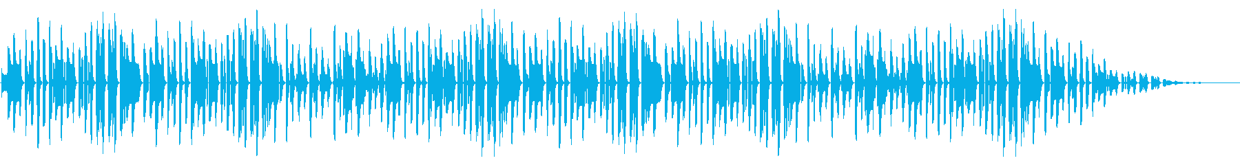 サッカー定番曲「凱旋行進曲」脱力アレンジの再生済みの波形